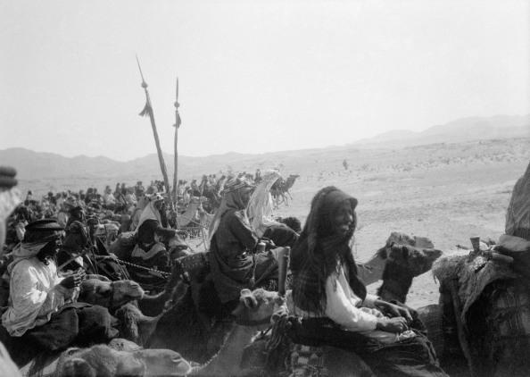 El ejército árabe en movimiento