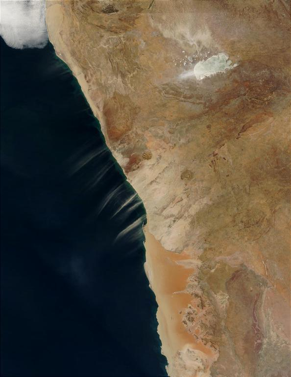Namibia - Foto Satélite NASA