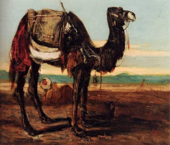 Decamps, Alexandre - Camello beduíno