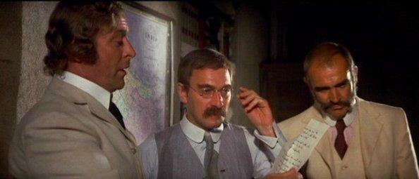 El hombre que pudo reinar - Leyendo junto a Kipling el pacto que sellan ambos protagonistas.