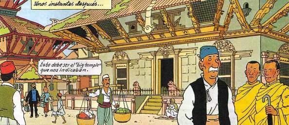 Tintín por Hergé - Viñeta