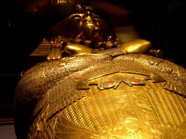 Sarcófago de Tutankhamon, Foto Sancho González Green
