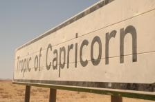 Cruzando el Trópico de Capricornio, Namibia - Foto por Mi Lawrence