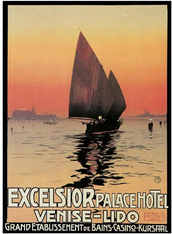 Póster Excelsior Venise-Lido