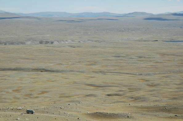 Mongolia, 2005 - Hacia el Tavan Bogd - Foto por Mi Lawrence