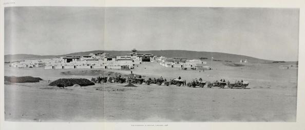 Vehículos de la Expedición de Roy Chapman Andrews en Mongolia
