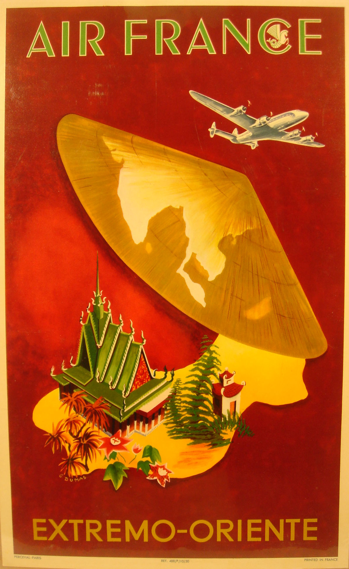 Air France Madame Magazine June July 2013 Ioanna Ntenti: Vintage Travel Posters