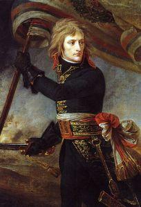 1801 Gros, Bonaparte en el puente de Arcole