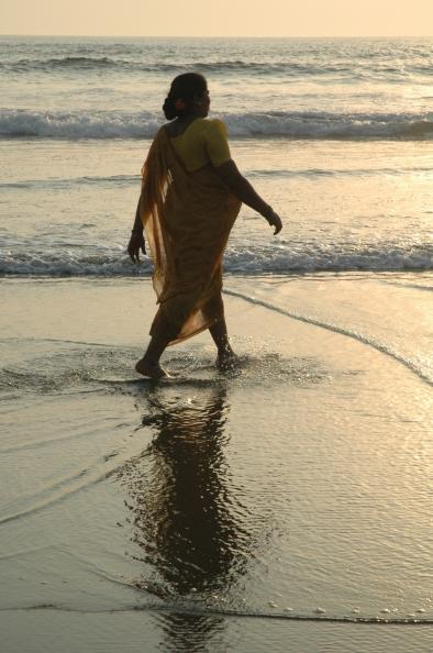 India 2005, Playa de Vagator, Goa