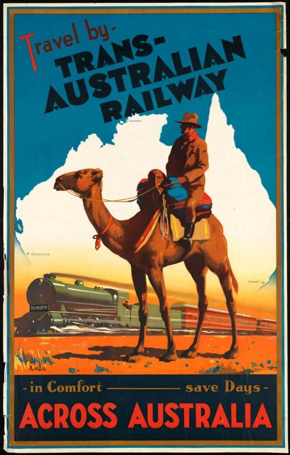 Poster de viaje - Australia