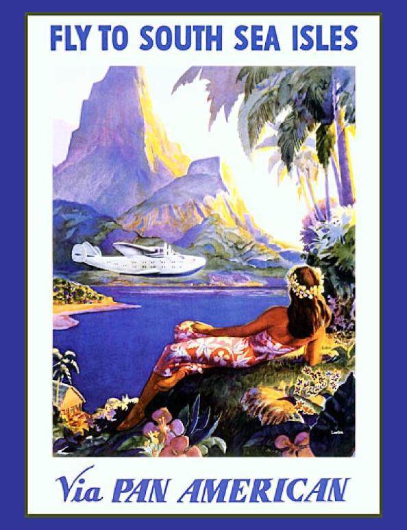 Póster de viaje vintage - Hawaii
