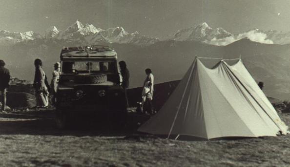 El Land Rover de Curry Ojeda en su viaje hasta Nepal