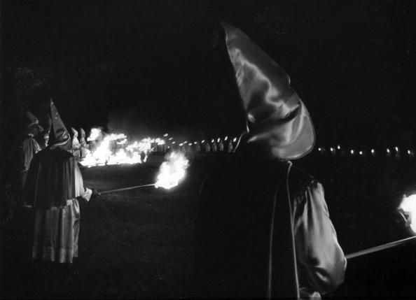 Ku Klux Klan en Carolina del Norte, 1965.