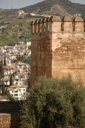 El Albaicín visto desde la Alhambra, Foto por Mi Lawrence
