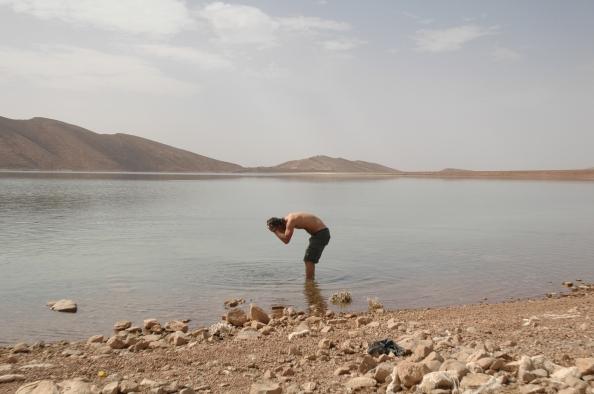A las afueras de Ifri, Marruecos - Foto por Mi Lawrence