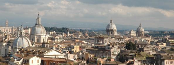 Roma vista desde el Castel Sant'Angelo - Foto por Mi Lawrence