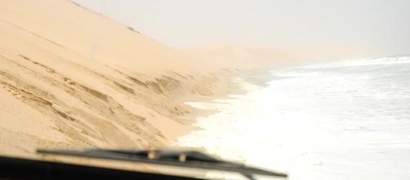 Namibia, hacia Sandwich Harbour - Foto por Mi Lawrence