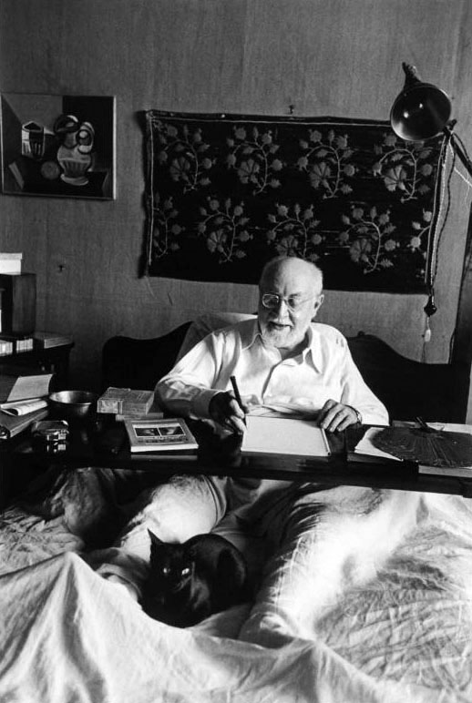 Henri Matisse, Francia - Foto por Robert Capa