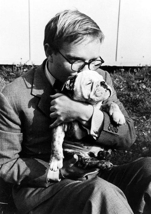 Truman Capote, Italia, 1953 - Foto Robert Capa